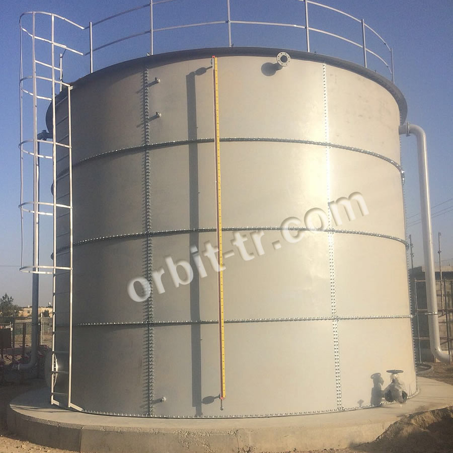 Modular cylindirical tank