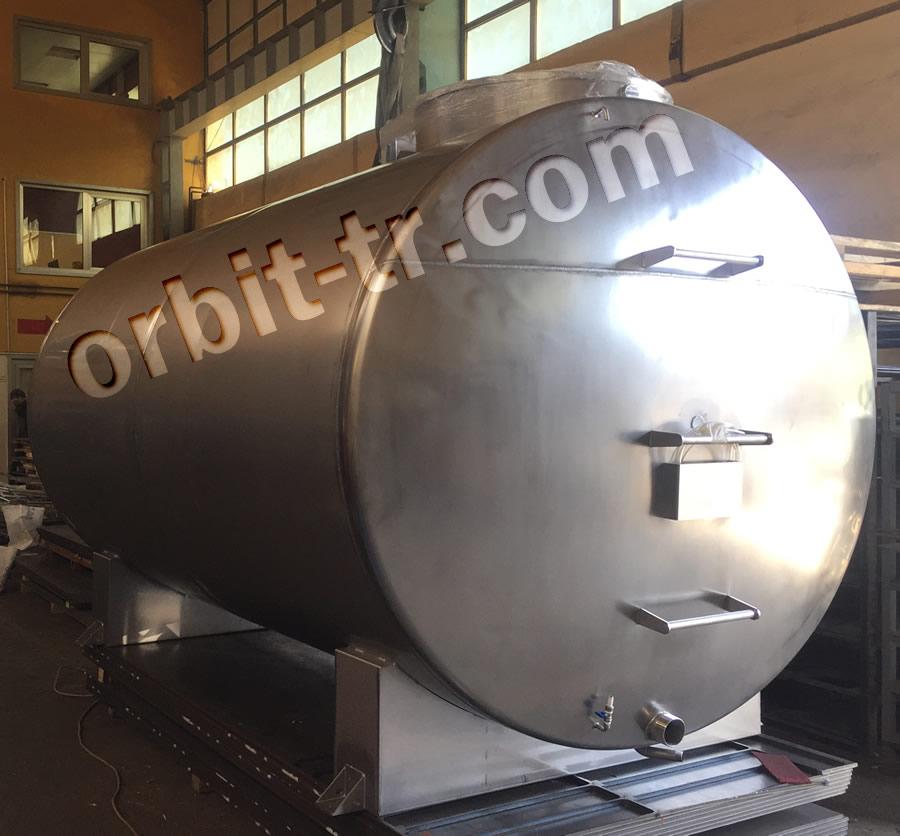 Welded cylindircal tank